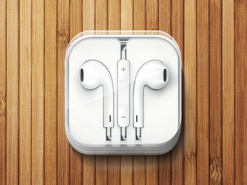 Iphone 5 Headphones By Dmitry Kovalenko Dribbble Dribbble