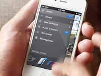 BMW App Concept - Sidebar