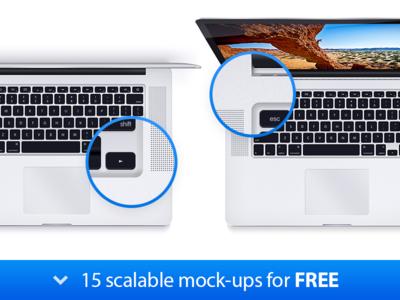 MacBook Pro - 15 Scalable Mock-ups