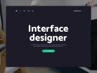 Personal Website — Home Page