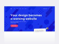 Web service header