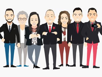 Avatar - Team team website branding design avatars illustration logo animated gif avatar