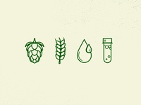 Beer Brewing Icons