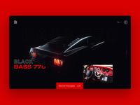 Black Bass 770 - UI design