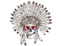 American Summer Skull