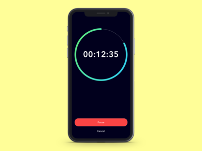 DAILY UI 013: Timer