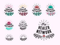 The Healer Network / Logo Process