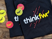 thinkfwd swagger / tees & stickers