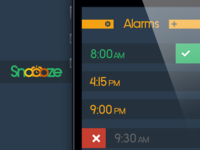 Snoooze App