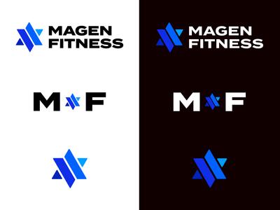 Magen Fitness Logo system