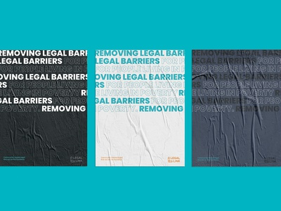 Legal Link posters illustrator typography legal scrollingtext posters