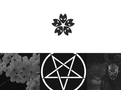 EvilSakura Logo design