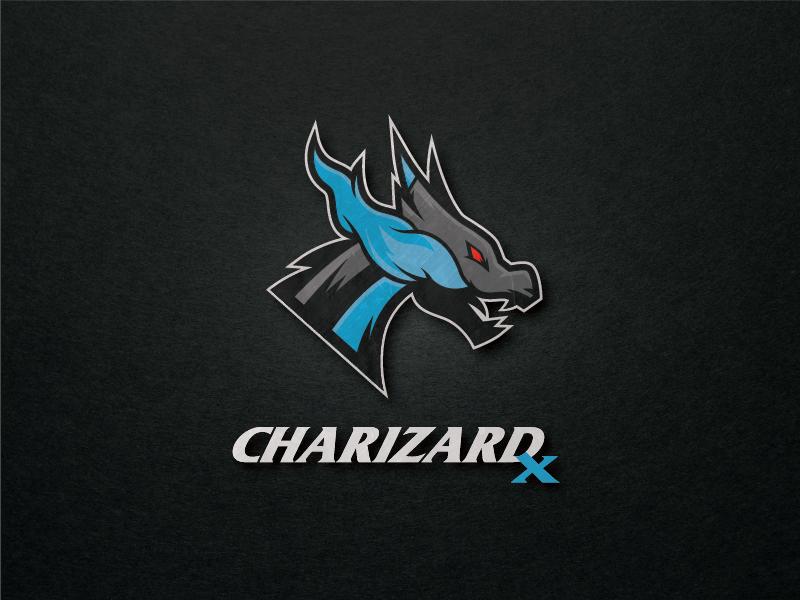 pokemon logo charizard x by steffan stewart dribbble dribbble