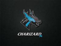 Pokemon Logo: Charizard X