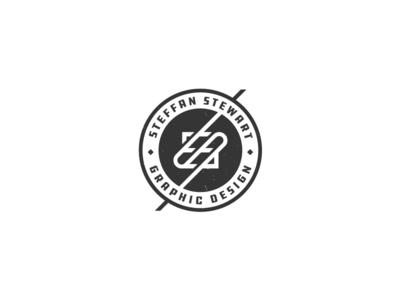 Personal Rebrand Badge shot rebrand logo identity icon geometry freethrow freelance eye design business branding