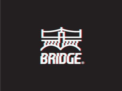 Bridge Glitch free throw agency shot logo arizona tempe branding phoenix bridge