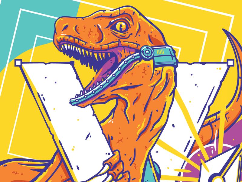 Mecha Raptor roar teeth machine robot gun cannon samus megaman jurassicworld jungle kaiju trex dinosaur evolution evolve pen tool mech velociraptor raptor jurassic park