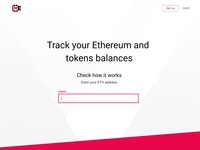 MyEth.io main page