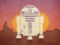 R2-D2 on Tatooine