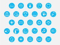 USPS Stamp Series Icons