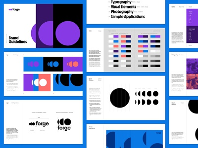 Forge Brand Guidelines brand identity logo brand guidelines branding