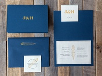 J&H Wedding Invites