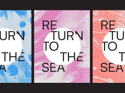 Return to the Sea typography type editorial