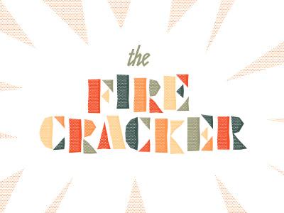 Firecracker type editorial