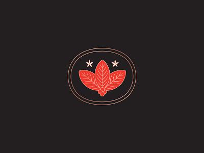 Crucible Coffee Roasters 2 stencil copper japanese coffee illustration logo branding