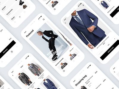 E-Commerce app app design design ux ui ecommerce shop e-commerce app