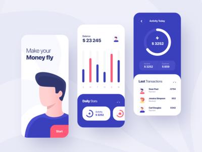 Finance App Concept