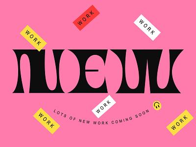 New design illustration type design typography type