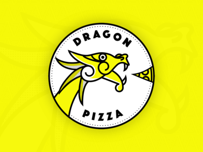 Dragon Pizza Logo Concept