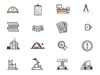 Work, Office, Workers Icons