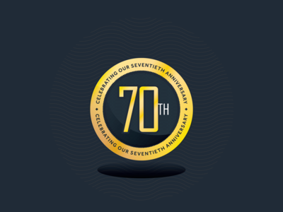 70th Anniversary Medal Concept