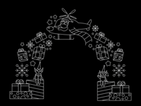 Christmas Arch Light