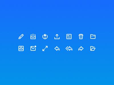 Bmail Icon Set