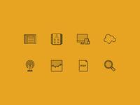 Represent web icons 2x