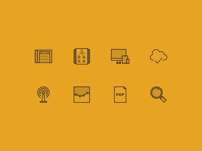 Represent Website Icons represent icon icons line thin resume website