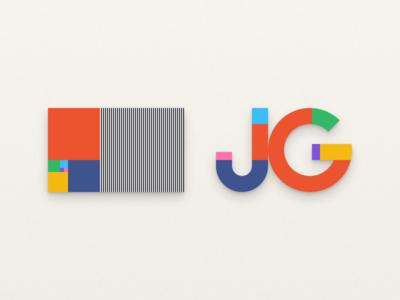 My new logo brand identity logo jeremy goldberg brandmark grid golden ratio
