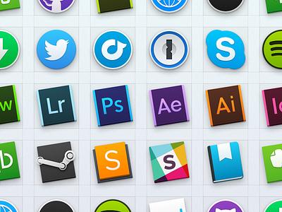 Yosemite Dock Icons yosemite icons mac dock os x app icon