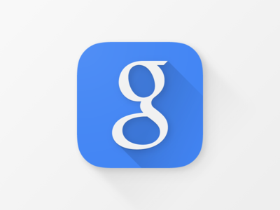 Google iOS App Icon google ios app icon material design