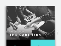 Cart icon spread