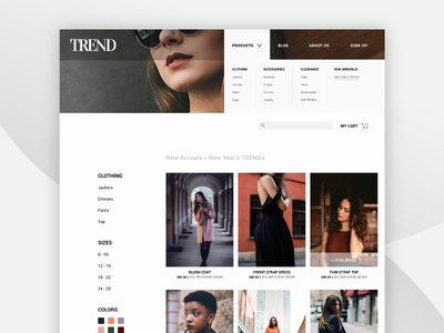 TREND Shopify Template Product Page By Rachel Kanahele Dribbble - Shopify product page template
