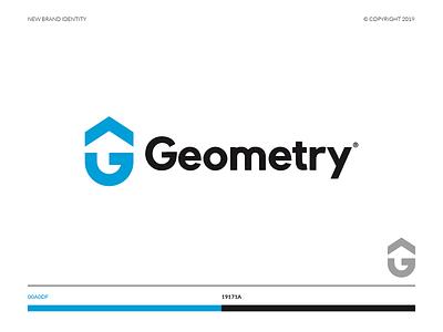 Geometry® website web vector ux ui typography minimal marca logo illustrator illustration identity icon flat design bulding branding brand app animation