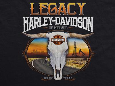 Harley Davidson apparel texas harley davidson teemotorcycle graphic