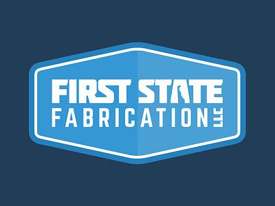 First State Fabrication Logo typography logo design