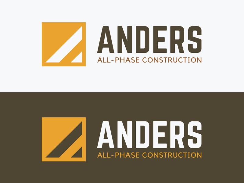 Construction logo concept vector logo mark logo logo design