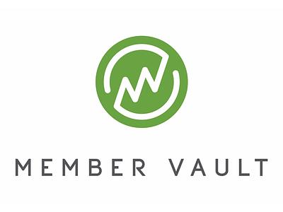 Member Vault Logo branding logo design logo
