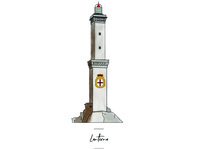 Genova Lantern icon for wedding seating chart.
